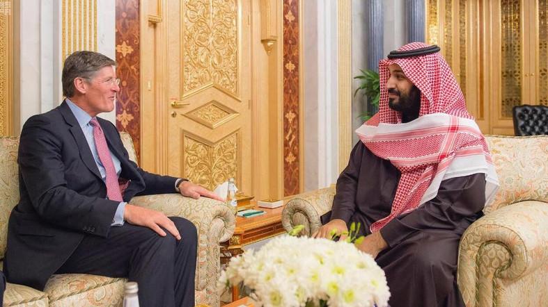 Saudi Deputy Crown Prince Receives Citigroup's CEO