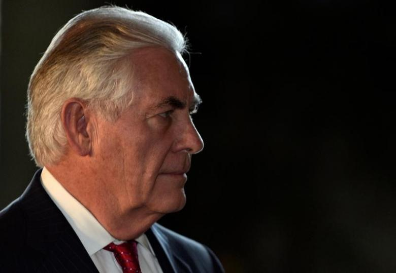 US Secretary of State Tillerson Warns Military Response against Pyongyang