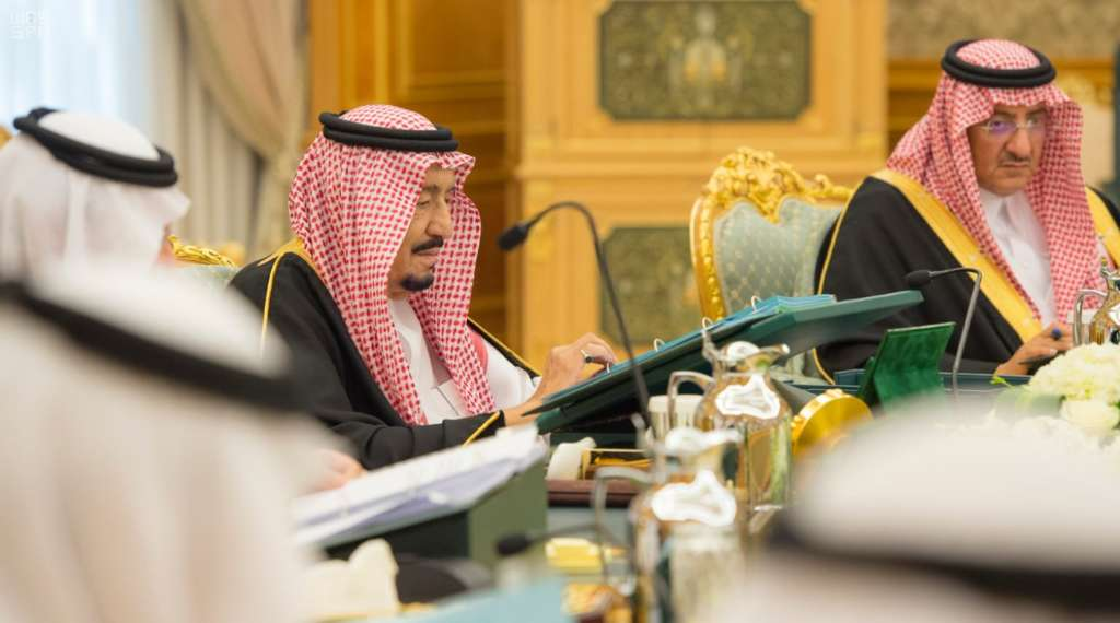 King Salman Reviews Jordan Visit at Saudi National Cabinet Session