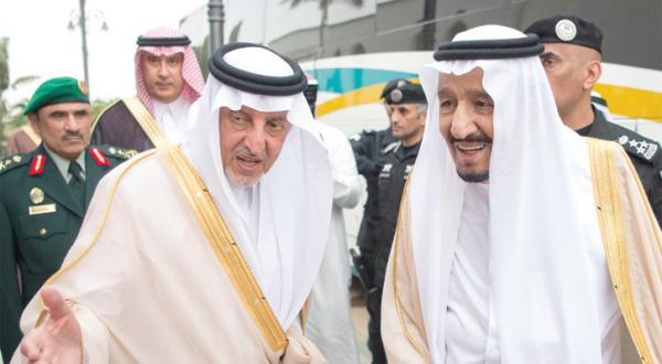 King Salman Arrives in Jeddah after Leaving Riyadh