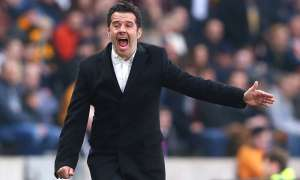 Marco Silva came in for criticism when he took over as the manager of Hull City but he has given the club a chance of escaping relegation. Photograph: Alex Livesey/Getty Images