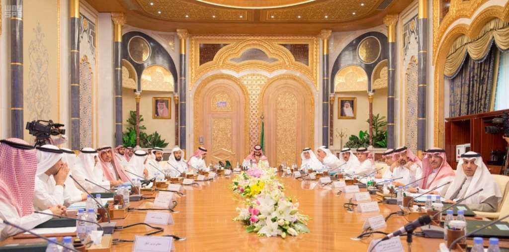 Deputy Crown Prince Chairs Meeting of Economic Affairs and Development Council