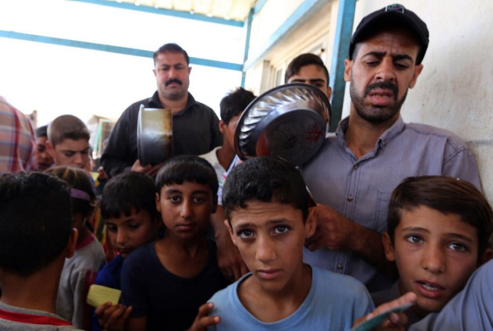 UN: Half of Iraqi Families Risk Hunger due to War