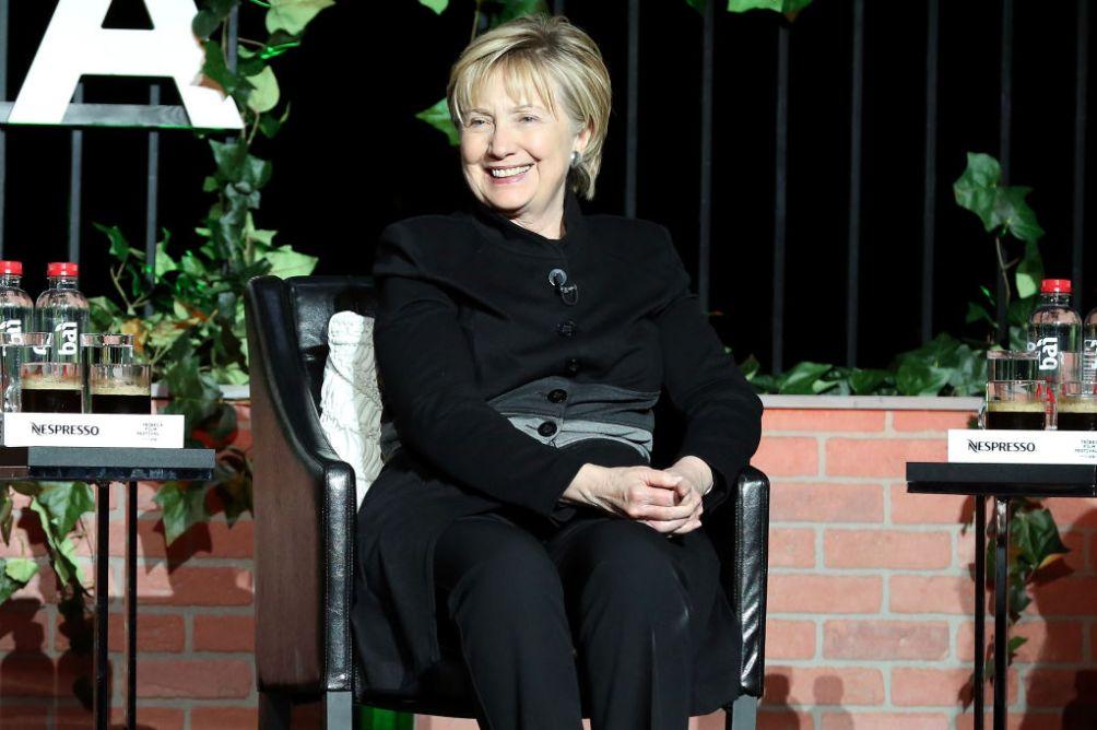Hillary Clinton Attends Tribeca Film Festival