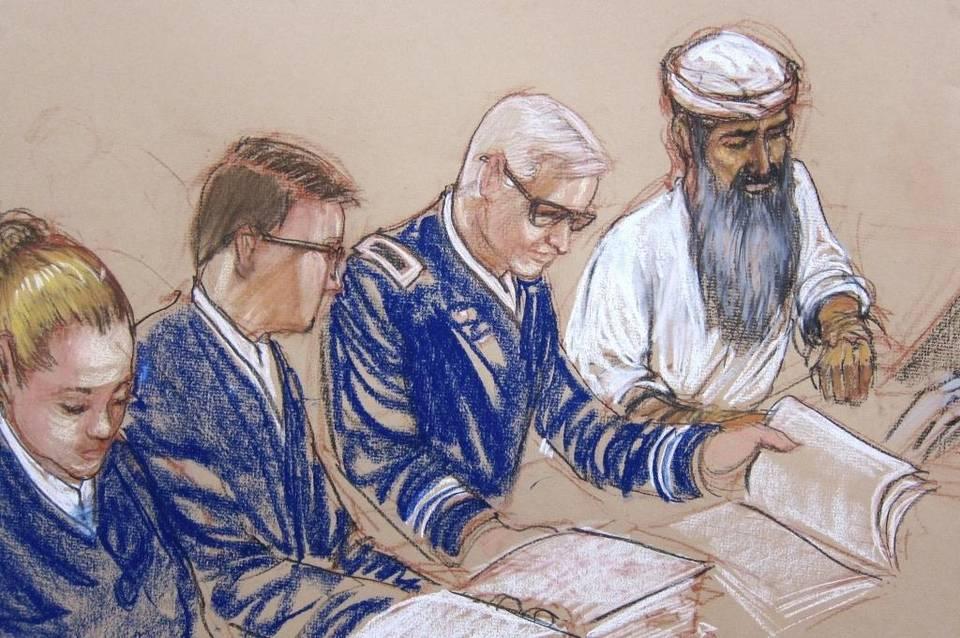Asharq Al-Awsat Attends Trial of Qaeda's Abdul Hadi al-Iraqi in Guantanamo