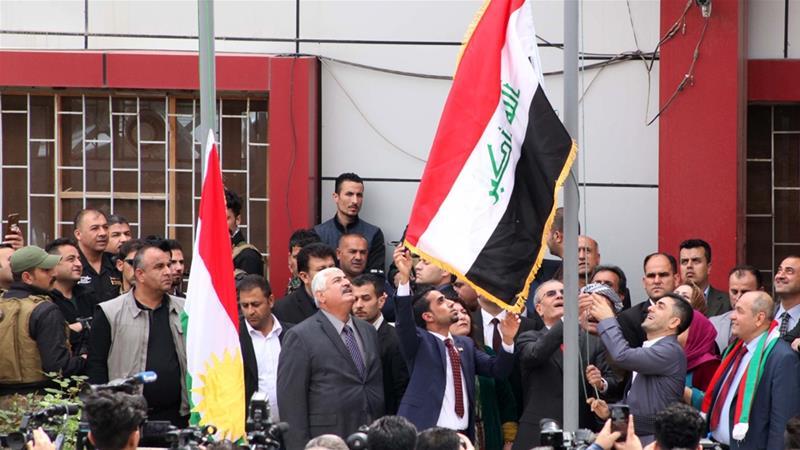 Iraqi Parliament Rejects Kurdistan's Flag in Kirkuk
