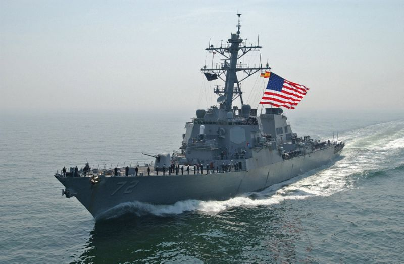 US Warship Fires Warning Flare at Iran Vessel in Gulf