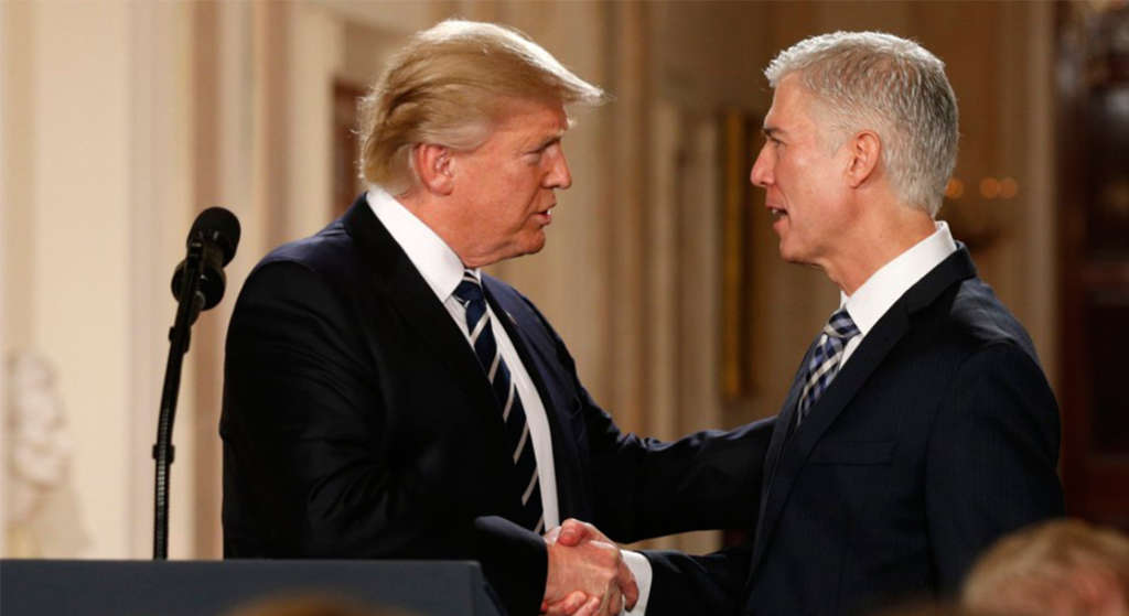 Trump Appointee Gorsuch Exhibits Composure, Confidence in First US High Court Arguments