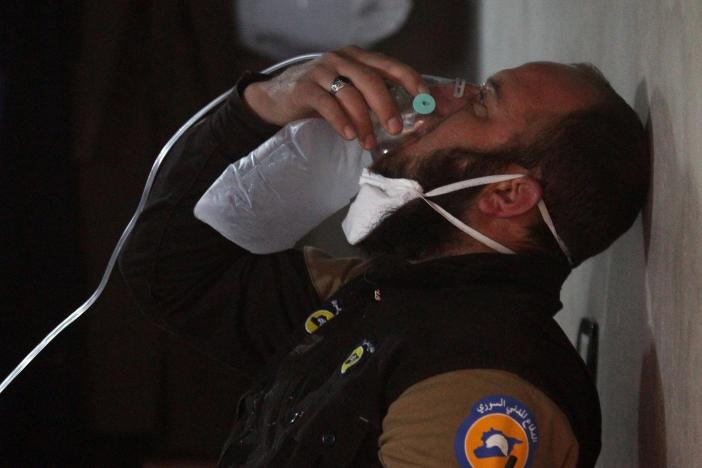 "Turkey Says Syrian Regime ""Clearly Violated"" UN Chemical Weapons Rules"