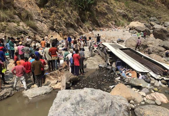 44 Killed in Northern India Bus Crash