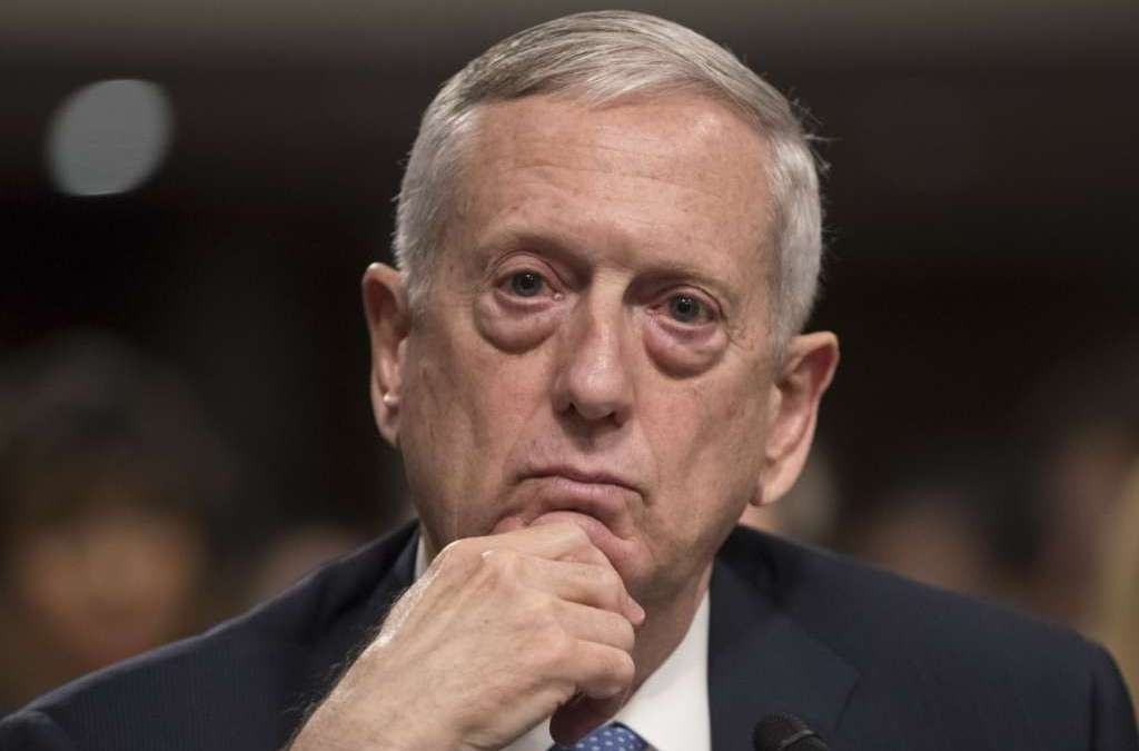 Questions that General Mattis Can't Answer