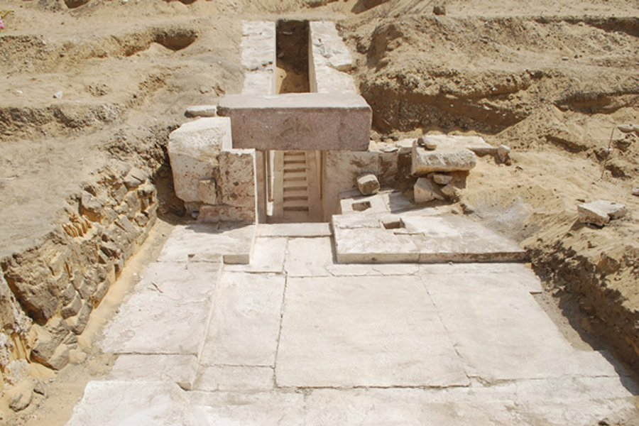 Remains of New Pyramid Discovered in Egypt