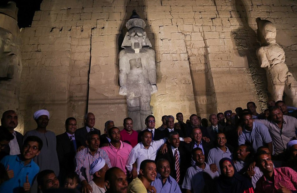 Egypt Unveils Restored Statue of Ramses II