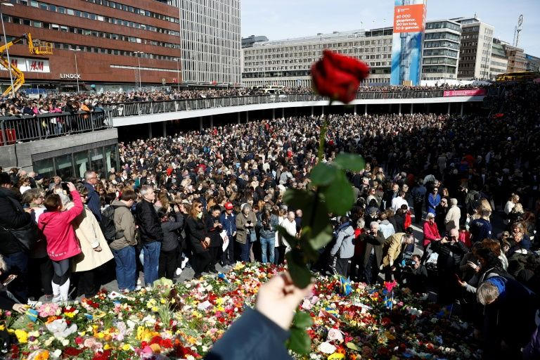 Minute of Silence Observed for Stockholm Attack Victims