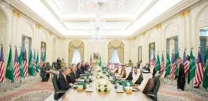 Part of US-Saudi meetings during Riyadh Summit