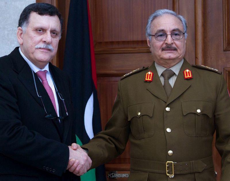 Libya's Sarraj, Haftar Meet in Abu Dhabi
