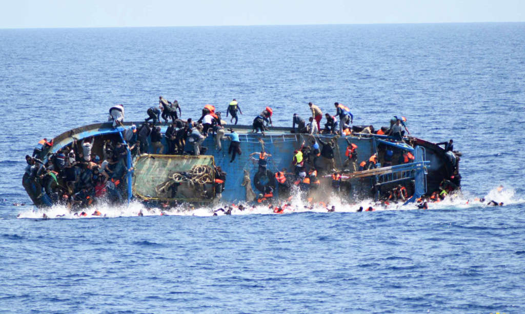 Migrant Boats Capsize Off Libya Killing 11