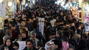 Iranians shop in Tehran's ancient Grand Bazaar on January 16, 2016, Iran