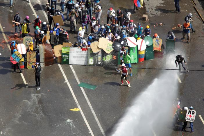 Protesters Turn to State Media Regulator as Venezuela Unrest Continues