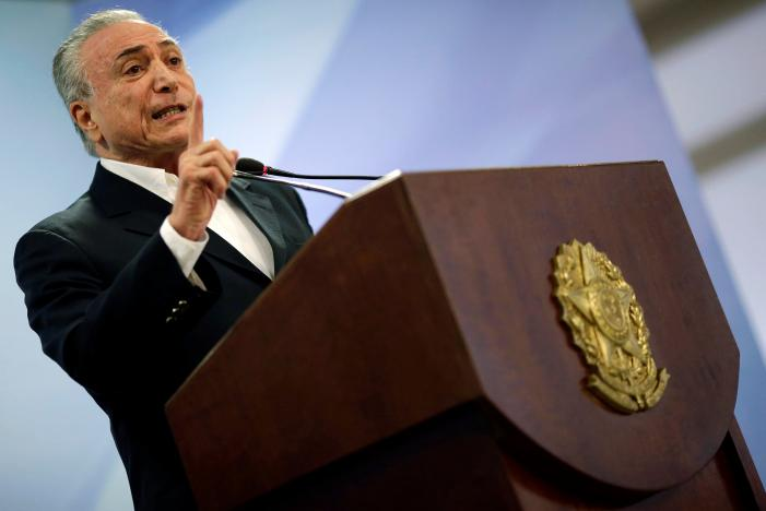 Brazil's Temer Fights for his Presidency amid Bribe Scandal