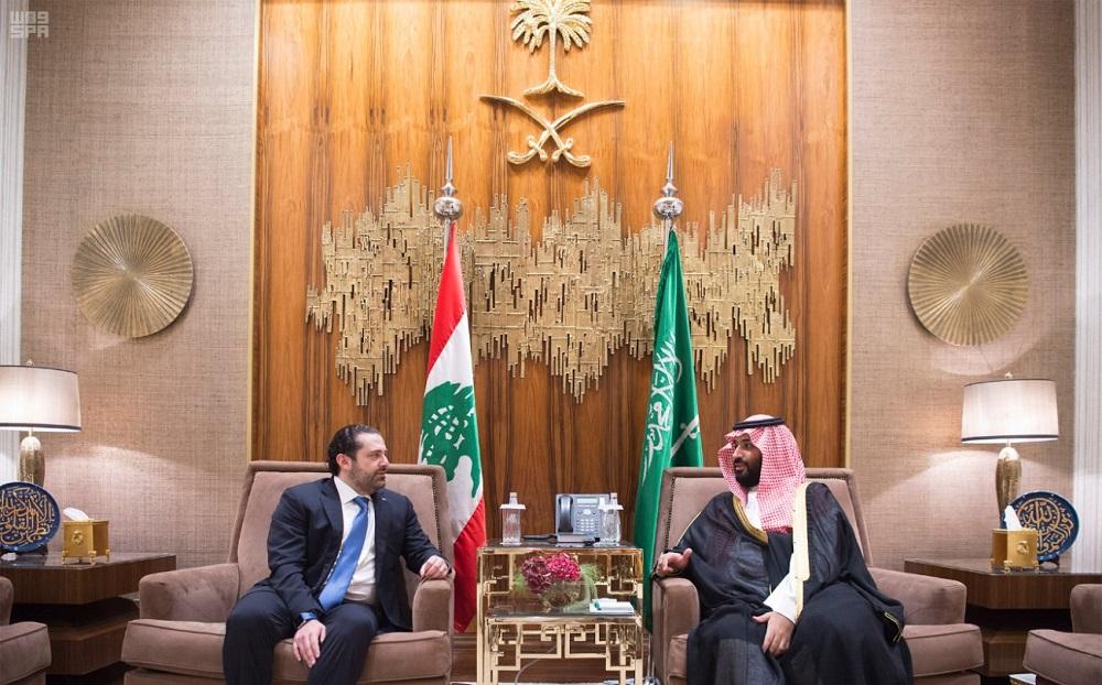 Saudi Deputy Crown Prince Meets Lebanese Prime Minister
