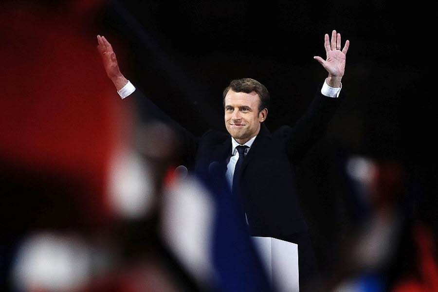 Macron Elected President as France Commits to Europe