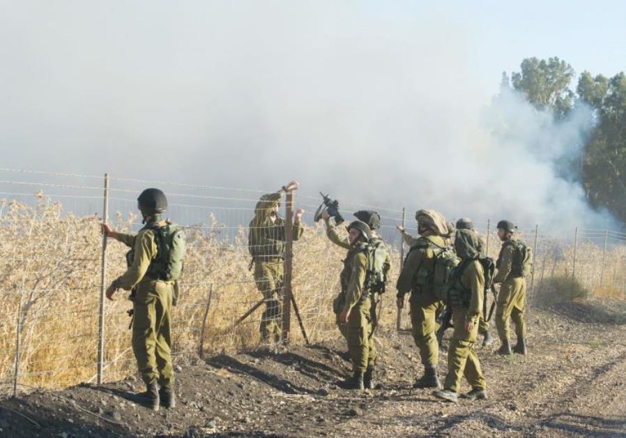 Israel Starts Building Fence along Lebanese Border