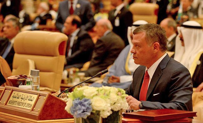 King of Jordan Calls for Coordinated and Global Action to Counter Terrorism