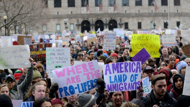 Trump Makes Renewed Push before Appeals Court to Adopt Divisive Travel Ban