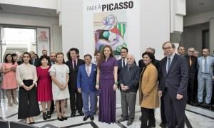 Morocco's Princess Lalla Salma Inaugurates 'Face à Picasso' Exhibition in Rabat