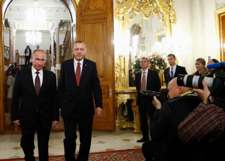 Differences on Supporting Kurds Focus of Wednesday's Erdogan-Putin Talks
