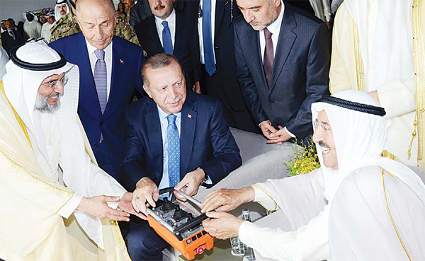 Turkish President Calls for Developing Trade with Gulf