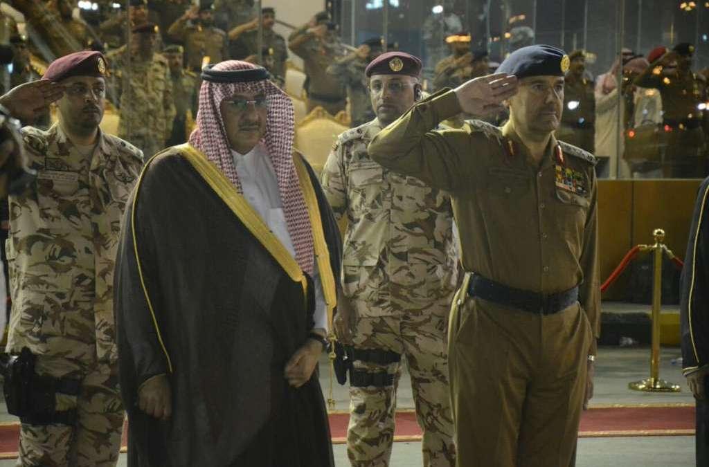 Crown Prince Patronizes Graduation Ceremony of Civil Defense in Makkah