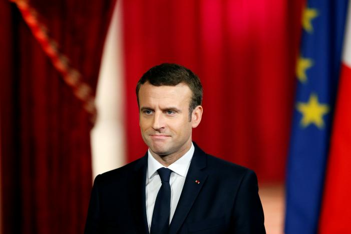 New French Leader Macron Vows to Overcome Division in Society