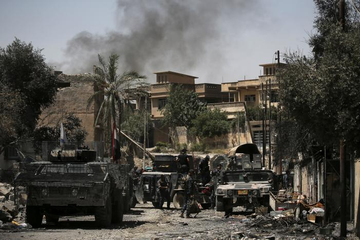 Broad Battles Launched to Retake Mosul Old City