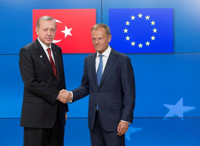 European Leaders Confront Erdogan with Human Rights File