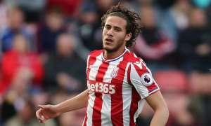 Ramadan Sobhi, who has made 16 appearances for Stoke this season, played in front of 100,000 fans for his previous club, Al Ahly. Photograph: James Baylis - AMA/Getty Images