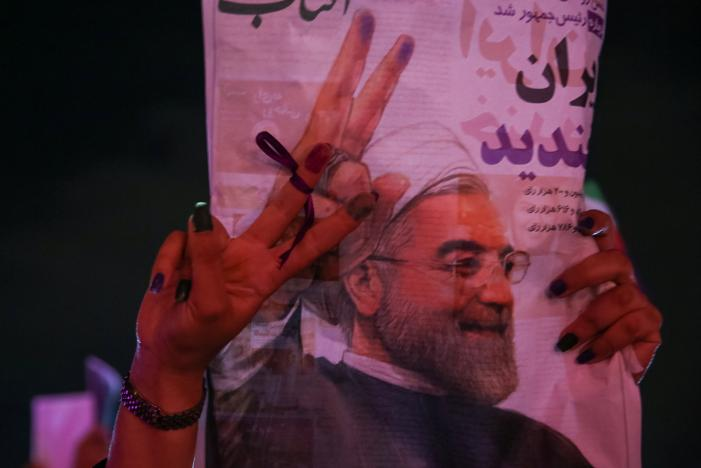 Khamenei Does Not Congratulate Rouhani on His Second Term
