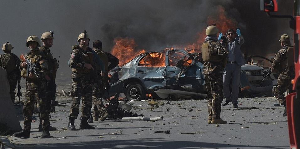 Hundreds of Casualties in Massive Kabul Blast