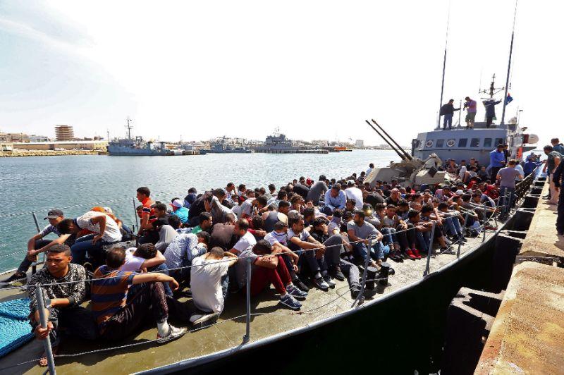 Coastguard Intercepts almost 500 Migrants off Libya