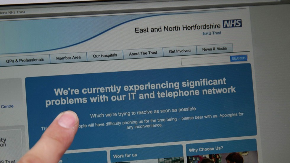 Global Cyberattack Disrupts Britain's Health System