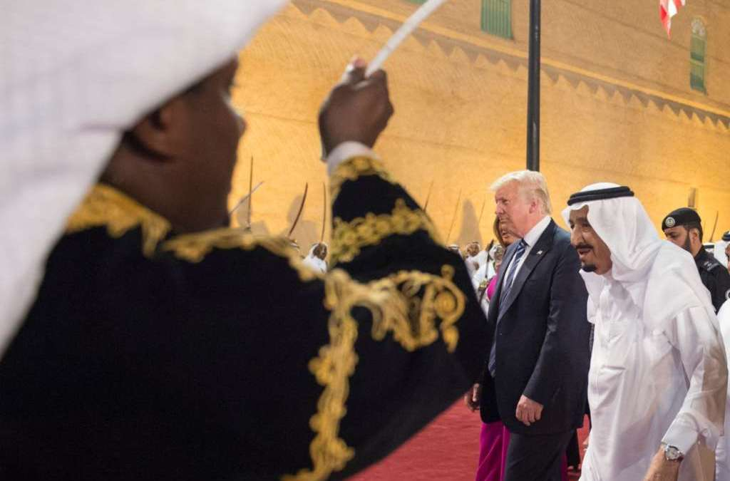 Trump in Riyadh, Game Rules Change