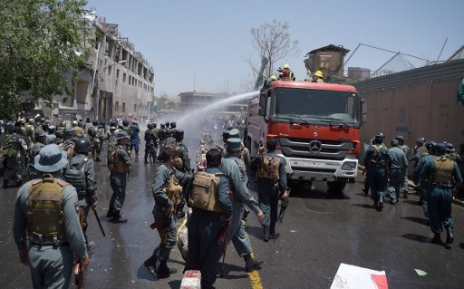 4 Dead as Kabul Protesters Clash with Police over Deadly Bombing