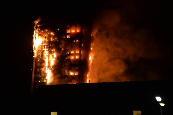 Some Dead, 50 Injured in London Tower Block Major Fire
