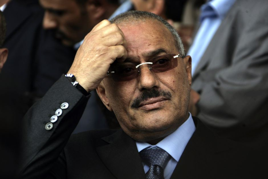Saleh Defends Iran's Interference in Iraq and Syria