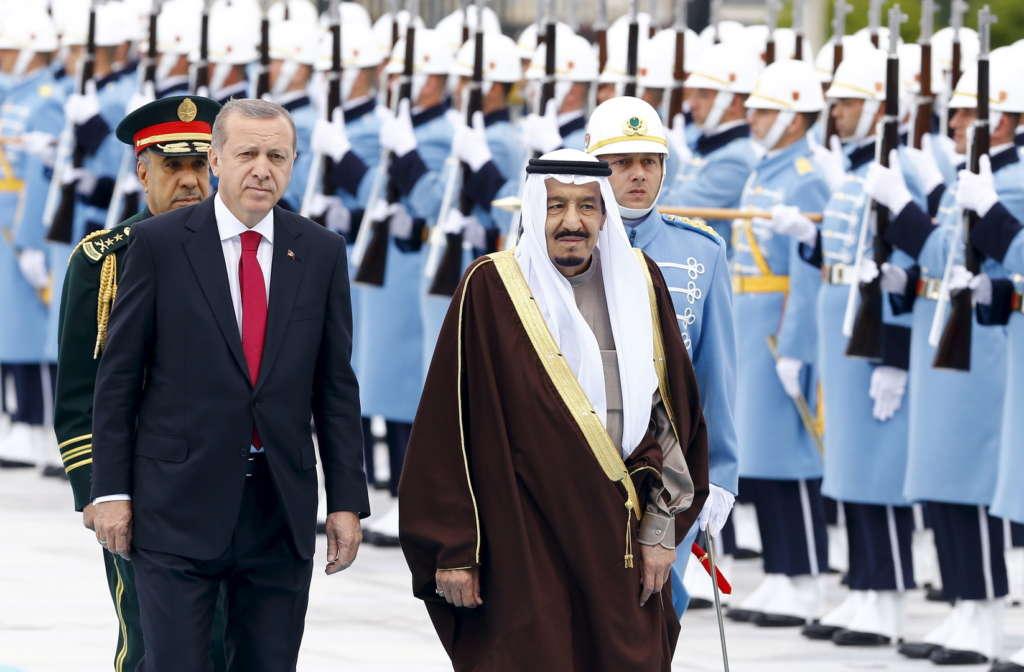 King Salman, Turkey's Erdogan Discuss Latest Developments in Phone Call