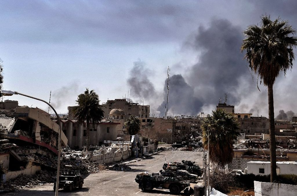 Looters Target West Mosul