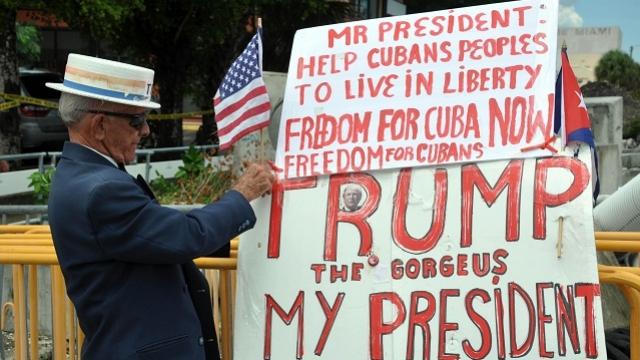 Russia Condemns Trump's New Cuba Policy