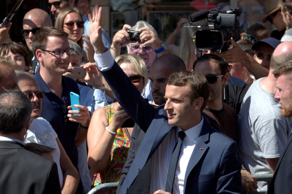 Macron's Party Sweeps First Round of French Parliamentary Elections