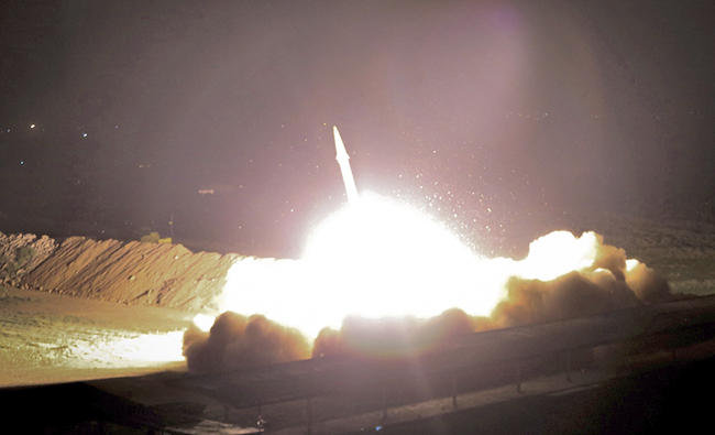 Majority of Iranian Missiles Missed Targets In Syria